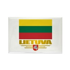 """Lithuania Pride"" Rectangle Magnet"