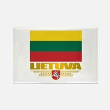 """""""Lithuania Pride"""" Rectangle Magnet"""