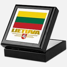 """Lithuania Pride"" Keepsake Box"