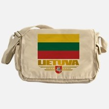 """Lithuania Pride"" Messenger Bag"