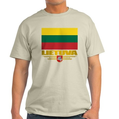 """Lithuania Pride"" Light T-Shirt"