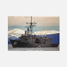USS STEPHEN W. GROVES Rectangle Magnet