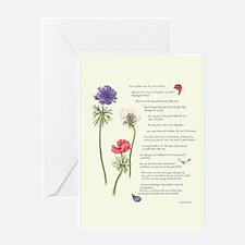 Kahlil Gibran Poem Greeting Card