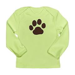 Paw Print Long Sleeve Infant T-Shirt