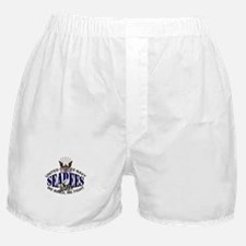 USN Navy Seabees Eagle Bee Boxer Shorts