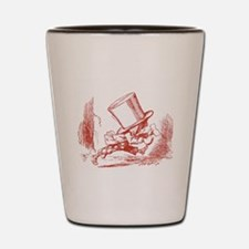 Mad Hatter on the Move Shot Glass
