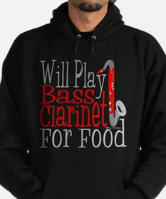 Will Play Bass Clarinet Hoodie