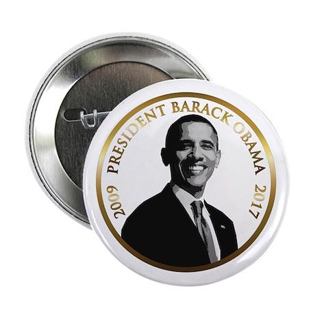 """Obama Commemorative 2.25"""" Button"""
