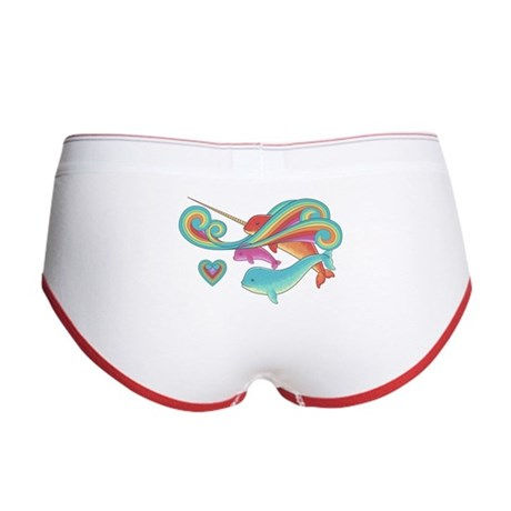 Groovy Narwhal Family Women's Boy Brief