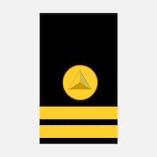 NOAA Lieutenant <BR>Vertical Decal