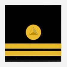 NOAA Lieutenant <BR>Tile Coaster