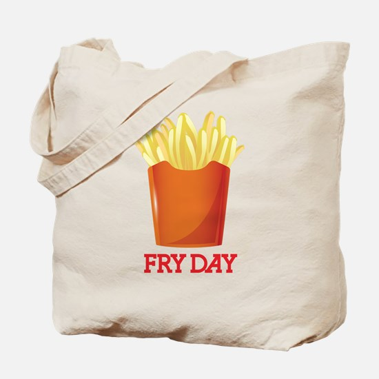 French fries day or Friday Tote Bag
