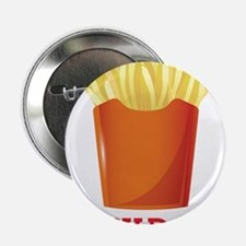 """French fries day or Friday 2.25"""" Button"""
