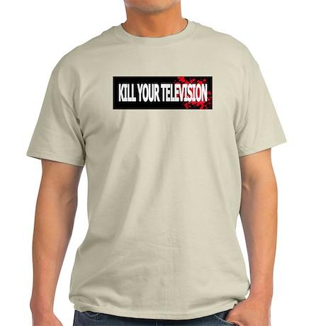 Kill Your Television! Ash Grey T-Shirt