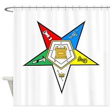 Eastern Star Shower Curtain