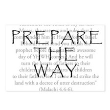 Prepare the Way Postcards (Package of 8)