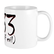 333 (only half evil) Mug