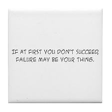 Failure - Tile Coaster