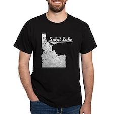 Spirit Lake, Idaho. Vintage T-Shirt