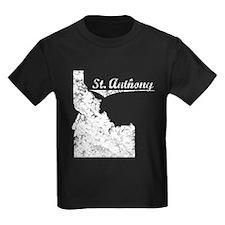 St. Anthony, Idaho. Vintage T