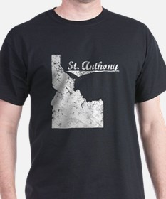 St. Anthony, Idaho. Vintage T-Shirt