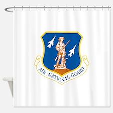 Air National Guard Shower Curtain