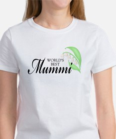 World's Best Mummi (Grandma) Tee