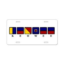 Nautical Keowee Aluminum License Plate