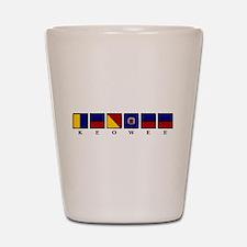 Nautical Keowee Shot Glass