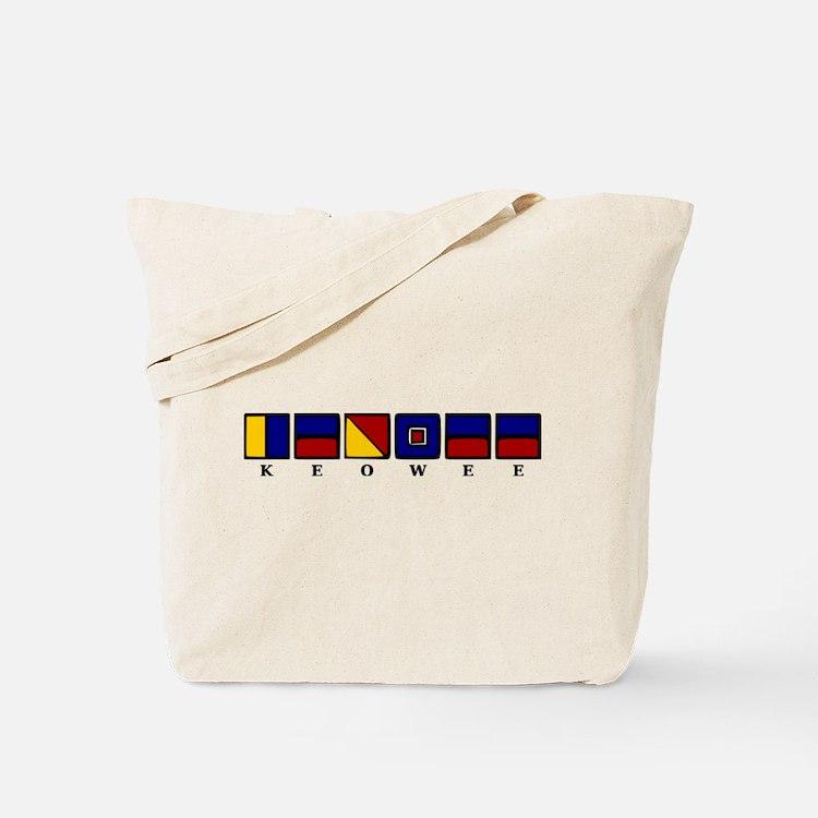 Nautical Keowee Tote Bag