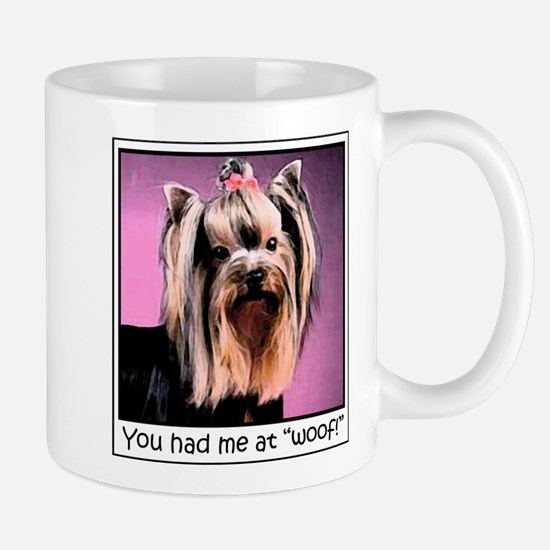 Yorkshire Terrier Yorkie Pop Art Fres Large Mugs