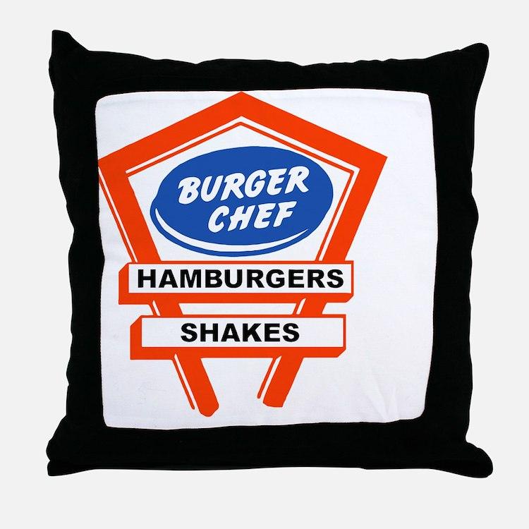 Cute Roadside america Throw Pillow