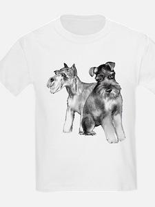 two schnauzers T-Shirt