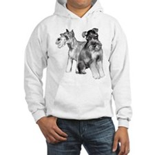 two schnauzers Hoodie