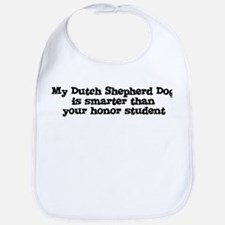 Honor Student: My Dutch Sheph Bib