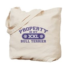 Bull Terrier PROPERTY Tote Bag