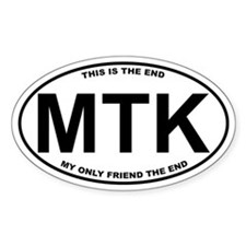 Montauk This is the End Decal