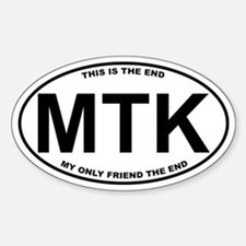 Montauk This is the End Sticker (Oval)