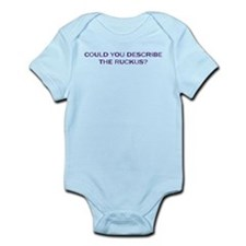 Could You Describe the Ruckus Infant Bodysuit