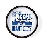 Giant City. Wall Clock