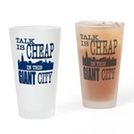 Giant City. Drinking Glass