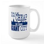 Giant City. Large Mug