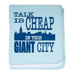 Giant City. baby blanket