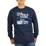 Giant City. Long Sleeve Dark T-Shirt