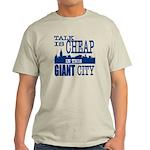 Giant City. Light T-Shirt