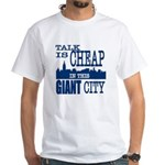 Giant City. White T-Shirt