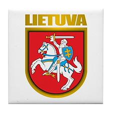 """""""Lithuania COA"""" Tile Coaster"""