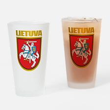 """Lithuania COA"" Drinking Glass"