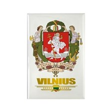 """Vilnius"" Rectangle Magnet"