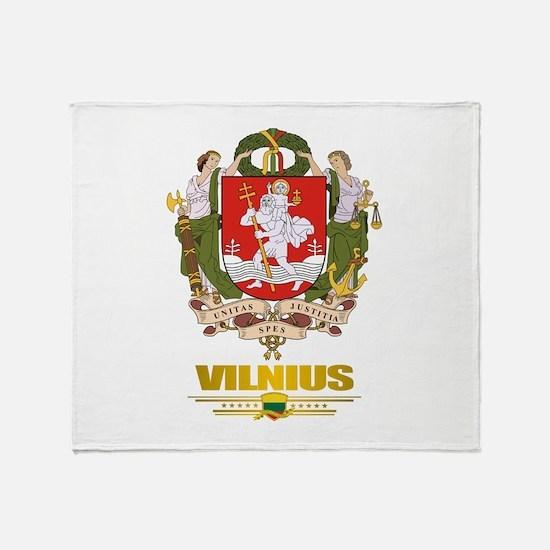 """""""Vilnius"""" Throw Blanket"""